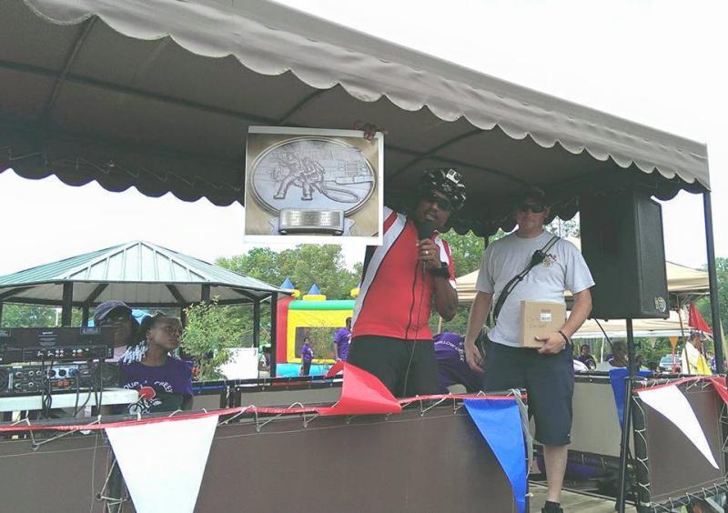 Receiving Fox Run Community Award