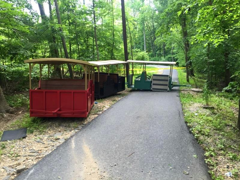 Cosca Park Train